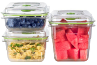 FoodSaver VS0655 Fresh Containers 3 Piece Set