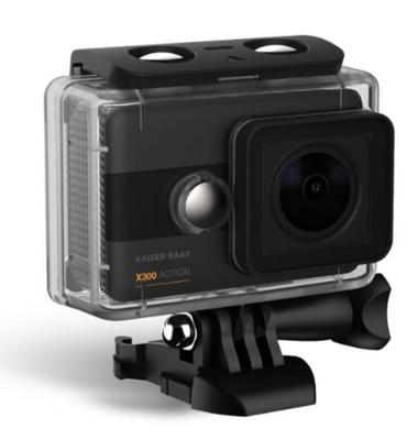 Kaiser bass x300 2 5k action camera kba12053 4