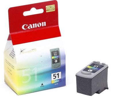 Canon Ink CL-51 High Capacity Color Cartridge