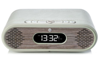 VQ Rosie-Lee DAB / DAB+ Digital Radio & Bluetooth Speaker (Grey & Limed Oak)
