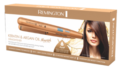 S7505au remington keratin argan oil nourish straightener 2