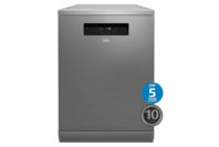 Beko 60cm Stainless Steel Freestanding Dishwasher