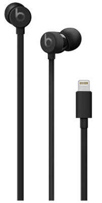 Apple urBeats3 Earphones with Lightning Connector - Black