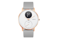 Withings/Nokia Steel HR Hybrid Smartwatch - 36mm, Rose Gold/Grey Silicone (Ex-Display Model Only)
