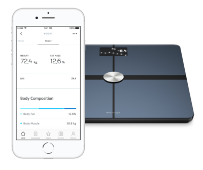 Withings bodplus body composition wi fi scale black 4
