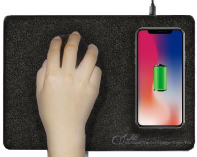 JC Matthew Wireless Charging Mousepad