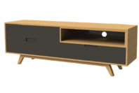 Criterion Tuscany TV Cabinet 1500 Grey