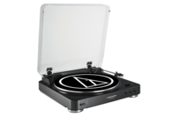 Audio Technica Fully Automatic Belt-Drive Stereo Turntable (USB & Analog) Black