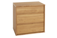 Platform10 Moda Three Drawer Tall Bedside Table