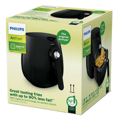 Philips hd9218 51 daily collection airfryer with rapid air technology 4
