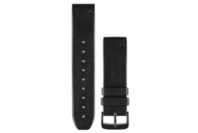 Garmin QuickFit 22 Watch Band (Black Perforated Leather)