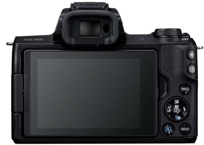 Canon m50kisb eosm50 single lens kit mirrorless camera 2