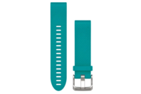 Garmin QuickFit 20 Silicone Watch Band (Turquoise Silicone)