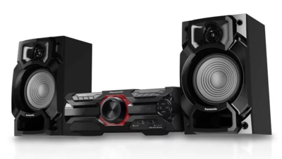 Panasonic 450W High Power Audio System with CD Player and DJ JukeBox Effect