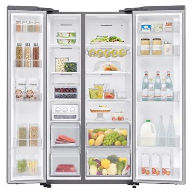 Srs694nls samsung 696l side by side fridge 3