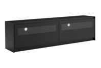 Criterion Monarch 1800 Black TV Cabinet