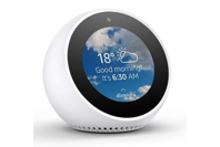 Amazon Echo Spot - Smart Alarm Clock with Alexa - White
