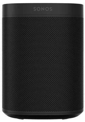 Sonos One Voice Controlled Smart Speaker Black