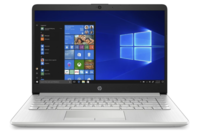 "HP Notebook 14"" Natural Silver A9-9425 4GB Ram 128GB SSD Win10"