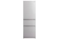 Mitsubishi 370L Glass CX Designer Series Multi Drawer Refrigerator Silver