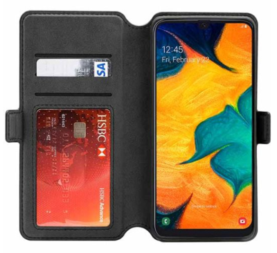 3sixt 3s 1525 neowallet for galaxy a30 black 3