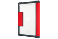 STM iPad 5th/6th Gen Dux+ with Apple Pencil Storage Red