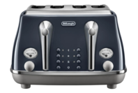 De'Longhi Icona Capitals 4 Slice Toaster - London Blue