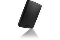 Toshiba 1 TB 2.5 inch External Hard Drive - Black