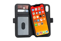 3SIXT NeoWallet Magnetised Case/Folio for iPhone XR - Black