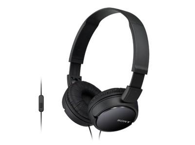 SONY ZX110 Smartphone Headphones - Black
