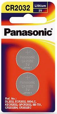Panasonic 3v Lithium Coin Battery 2 pack