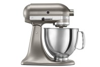 Kitchenaid 4.8L Artisan Tilt-Head Stand Mixer - Cocoa Silver