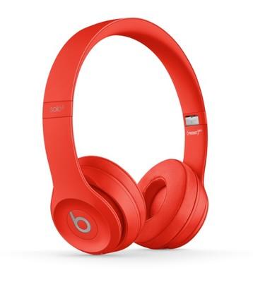 Beats solo3 wireless headphones   red %285%29