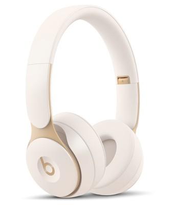 Beats solo pro wireless noise cancelling headphones   ivory %282%29