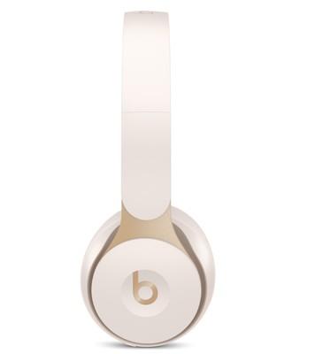 Beats solo pro wireless noise cancelling headphones   ivory %285%29