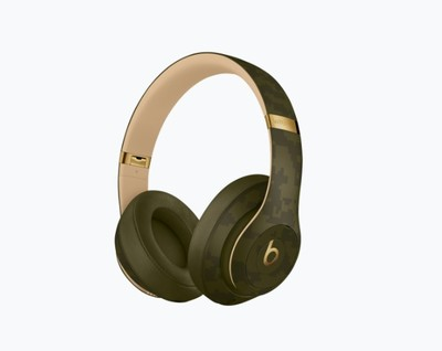 Beats studio3 beats camo collection   forest green %285%29