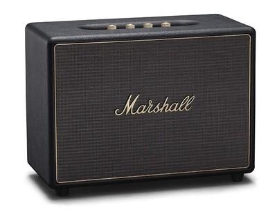 Marshall Woburn Wireless Multi Room Wifi Speaker Black