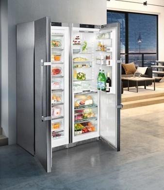 Liebherr 629l side by side fridge freezer %284%29