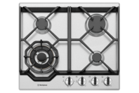 Westinghouse 60cm 4 burner stainless steel gas cooktop