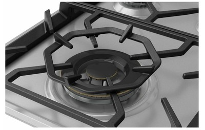 Westinghouse 90cm 5 burner stainless steel gas cooktop %286%29