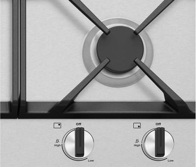 Westinghouse 90cm 5 burner stainless steel gas cooktop %287%29