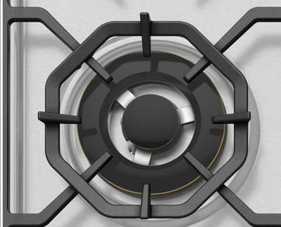 Westinghouse 90cm 5 burner stainless steel gas cooktop %288%29