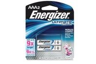 Energizer Battery AAA Ultimate Lithium 2 Pack