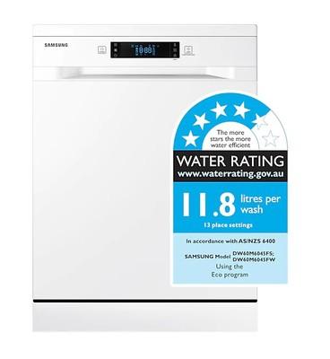 Samsung white freestanding dishwasher %282%29