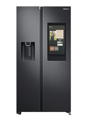 Samsung 656L Side By Side Fridge - Black