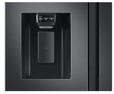 Samsung 656l side by side fridge   black 8