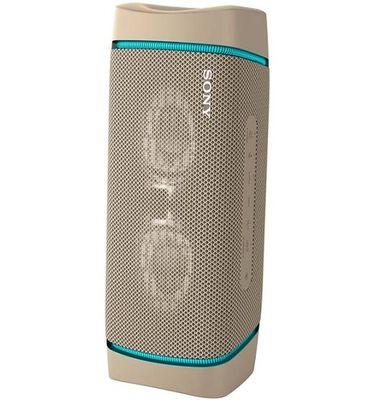 Sony extra bass wireless speaker taupe 7