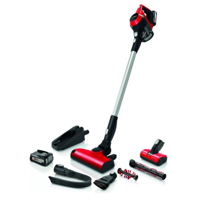 Bosch Rechargeable Vacuum cleaner, Unlimited ProAnimal - Red