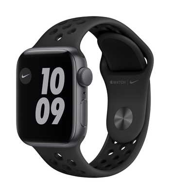 Apple Watch Nike Series 6 GPS, 40mm Space Gray Aluminium Case with Anthracite/Black Nike Sport Band - Regular