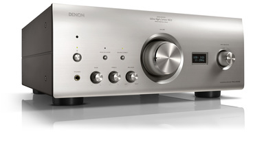 Denon 2x 160w reference integrated amplifier   silver   3